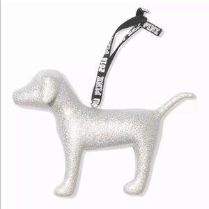 VS PINK Mini Dog Ornament